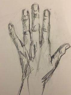 Hand sketch Sketching practice drawing hands, pencil sketch, sketchbook by Flo Lee of Florence Lee & co This image has. Art Drawings Sketches Simple, Pencil Art Drawings, Cool Drawings, Hand Pencil Drawing, Pencil Sketching, Hand Drawings, Sketch Drawing, Hand Sketch, How To Sketch