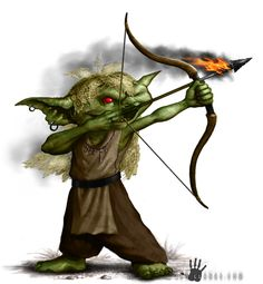 """Character illustration from """"We Be Goblin's Too"""" by Paizo Publishing."""