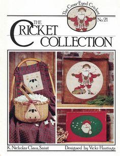 Cricket Collection No 21 K. Nicholas Claus, Saint for Counted Cross Stitch Santa #TheCrossEyedCricket #ChristmasDecor
