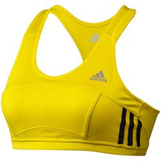Camiseta corta ajustada Response Mujer, vivid yellow / black