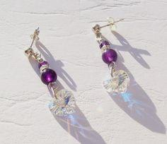Amethyst Earrings Sterling Silver £25.00