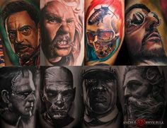 Angelo Nicolella | Tattoo Artist | Italy | Photo-Realistic Style Check out the interview: http://www.skin-artists.com/interview-with-angelo-nicolella.htm