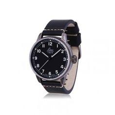Relojes Negros: Reloj Laco Used Look Negro Cristal Zafiro  http://www.tutunca.es/reloj-laco-used-look-negro-cristal-zafiro