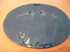 Clay Handprint Day at Kiln Creations, Noblesville, Indiana.  www.kilncreations.net.