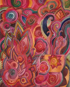 Hibiscus Dreams original watercolor by Megan Noel by meinoel, $90.00