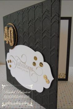 Stampin' Pals: Classy and Elegant 40th