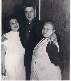 "On the back of this picture it says; ""Elvis Presley greets the lavatory attendants in Munich in March of 1959""."