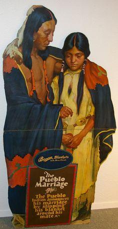 vintage beacon blanket ad...