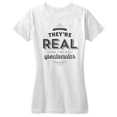 They're Real and They're Spectacular T-Shirt - Seinfeld Quote  - Mens - Womens - Smal - XXL