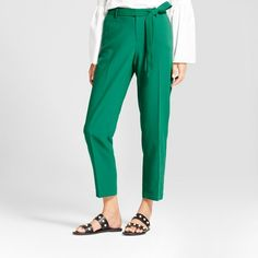 Tie-Waist Crepe Pants from A New Day