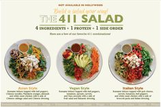 california chicken cafe catering 26 best Salad Concept images on Pinterest | Ideas, Salad bar and ...