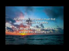 An Ocean of love lives within each heart. It is the source of peace for the soul and the source of peace for the world. Exquisite music by Miten/ Deva Premal that is a mixture of song, mantra, and prayer.
