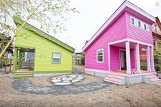 200 Sq. Ft. Pink Tiny House in Portland, OR