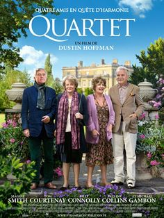 Quartet > Site officiel VF - Un film de Dustin Hoffman avec Billy Connolly, Maggie Smith, Michael Gambon