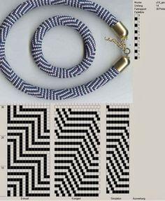 stripe beaded crochet bracelet 14 around Bead Crochet Patterns, Bead Crochet Rope, Crochet Bracelet, Beading Patterns, Beaded Crochet, Seed Bead Jewelry, Beaded Jewelry, Beaded Bracelets, Necklaces