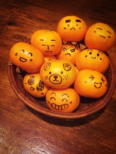funny oranges!