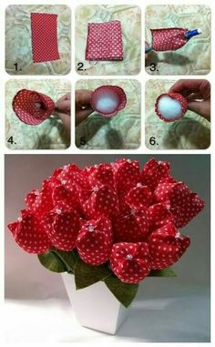 Best 12 You don't know how to make fabric flower? Checkout these 50 DIY fabric flowers tutorial that will soon leave you as a professional fabric flower maker! Felt Flowers, Diy Flowers, Fabric Flowers, Paper Flowers, Felt Crafts, Fabric Crafts, Sewing Crafts, Diy And Crafts, Diy Gifts