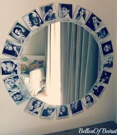 DIY Tutorial: DIY Mirror / DIY Old Hollywood Vanity Mirror - Bead&Cord                                                                                                                                                     More