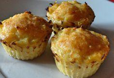 Burgonya röszti muffin Potato Dishes, Potato Recipes, Quiche Muffins, Good Food, Yummy Food, Vegas, Hungarian Recipes, Cupcakes, Quick Meals