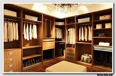 Walk in closet - Diseños modernos ideas para decorar y ampliar un closet o armario   Web del Bricolaje Diy diseño y muebles
