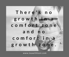 This is a quote I saw recently that's stuck with me and challenged me. If things are uncomfortable, don't back away. Press in. Change. Grow. Jesus didn't strive for a comfortable life, and neither should we. www.teawithtoni.com