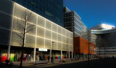 Alexanderplein, Rotterdam. My place of work. NIKON D80