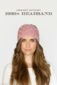 1920s Lace Headband - Free Crochet Pattern