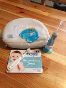 Prendre soin des quenottes avec la trousse Baby Care de Visiomed Baby (concours)