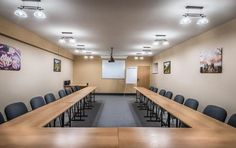 Horská chata Orešnica Conference Room, Spa, Relax, Table, Furniture, Home Decor, Decoration Home, Room Decor, Tables