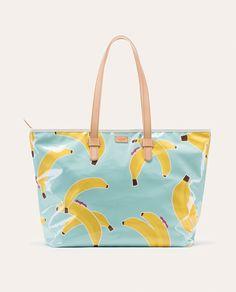 Consuela Bananas Zipper Tote, Legacy Collection