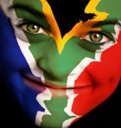 Are we making it impossible for foreign tourists and business people to enter the country? Cape Town Tourism says we are - New World Immigration Flag Painting, Body Painting, Cape Town Tourism, South African Flag, African Theme, Flag Face, We Are The World, Beaches In The World, African Culture