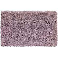 Sweet Home Collection Shaggy Cotton Chenille Bath Rug