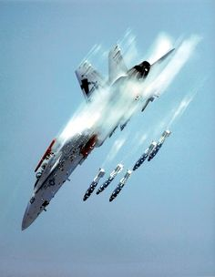 SuperSonic Youth - ferdinand-von-portus: FA-18C Hornet from Air...