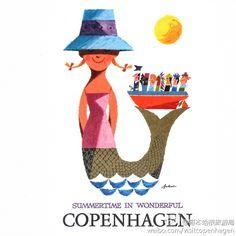 SUMMERTIME IN WONDERFUL COPENHAGEN