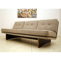 Kho Liang Ie; #671 Sofa for Artifort, 1960s.
