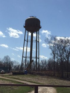 The new water tower on Lawrence street in beautiful Brandenburg