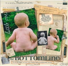 A Project by Candice Greenway from our Scrapbooking Gallery originally submitted at AM Scrapbook Supplies, Scrapbooking Layouts, Digital Scrapbooking, Baby Scrapbook Pages, Photo Layouts, How Beautiful, Scrapbooks, Baby Photos, Cute Babies