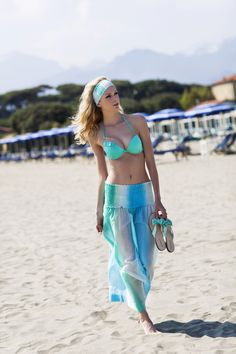 Pepita Beachwear Spring Summer 2014. Capri gonna, Nisida push up, Capri infradito