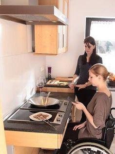 wheelchair accessible kitchens photos kitchen room elements pinterest jeune pousse. Black Bedroom Furniture Sets. Home Design Ideas