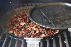 Use the vegetable tray and upside-down insert to make a smoker in a Stok!