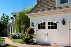 Garage Doors Can Be Really Pretty – The House that A-M Built