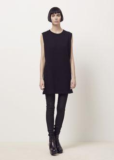 MM6 Maison Margiela Sweatshirt Dress (Black)