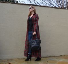 Fashion Should Be Fun - Style Over Forty: Plaid Shirt-Dress As Coat