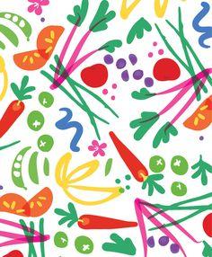 Full Spectrum Salad by Allison Holdridge | Society6