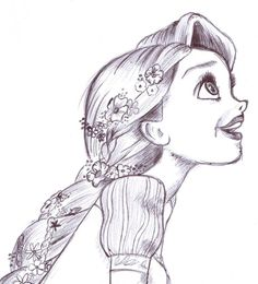 sketches of rapunzel | rapunzel 3 by foreverwonderstruck