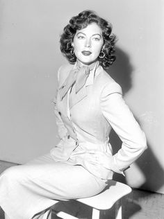 Meet the Muses Behind the Spring 2016 Collections - Ava Gardner  - from InStyle.com