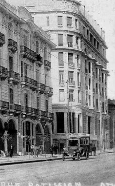 1930~ Patission avenue, Athens Greece Pictures, Old Pictures, Old Photos, Vintage Photos, Foto Vintage, My Athens, Athens City, Athens Greece, Athens History