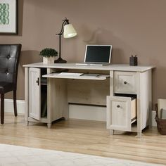 99+ Sauder Black Computer Desk - Used Home Office Furniture Check more at http://www.sewcraftyjenn.com/sauder-black-computer-desk/