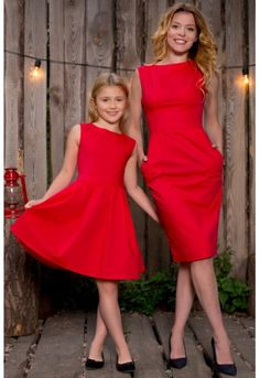 I don't understand why my wife and daughter won't wear matching outfits. My son and I love dressing alike! Mommy Daughter Dresses, Mother Daughter Shirts, Mommy And Me Dresses, Mother Daughter Dresses Matching, Mother Daughter Fashion, Mom Dress, Mom And Baby Outfits, Little Girl Outfits, Matching Family Outfits