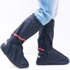 Whose Lemon Thicken PVC Reusable Zippered Women Men High Boots Waterproof Shoes Cover Rain/Snow Proof Shoes Covers Slip-resistant Wear-resistant Foldable Shoes Cover For Mortocycle Garden Hiking Camping Climbing Outdoor Activities XL Brand change to:Whose Waterproof Rain Jacket, Waterproof Shoes, Snow Wear, Rain Wear, Raincoats For Women, Jackets For Women, Foldable Shoes, Rain Boots, Shoe Boots